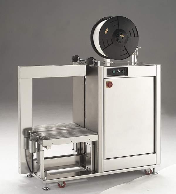 Стреппинг машина для обвязки продукции во влажной среде