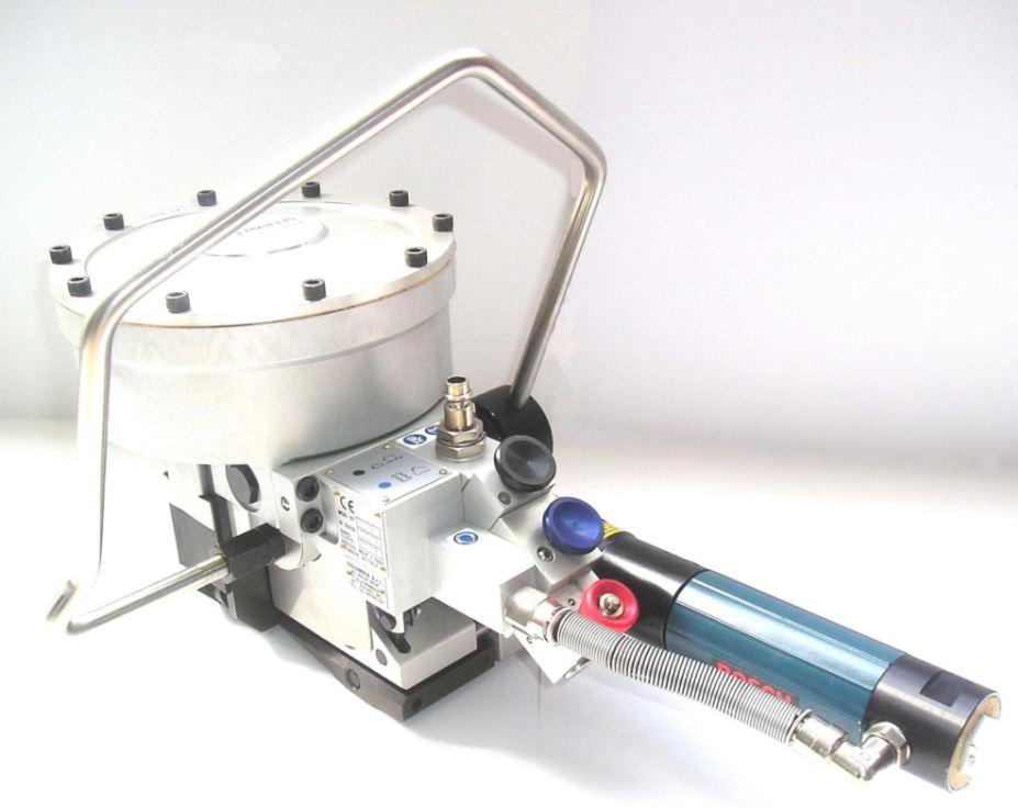 Пневматический стреппинг инструмент для металлической ленты