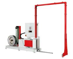 Автоматическая стреппинг машина для обвязки паллет