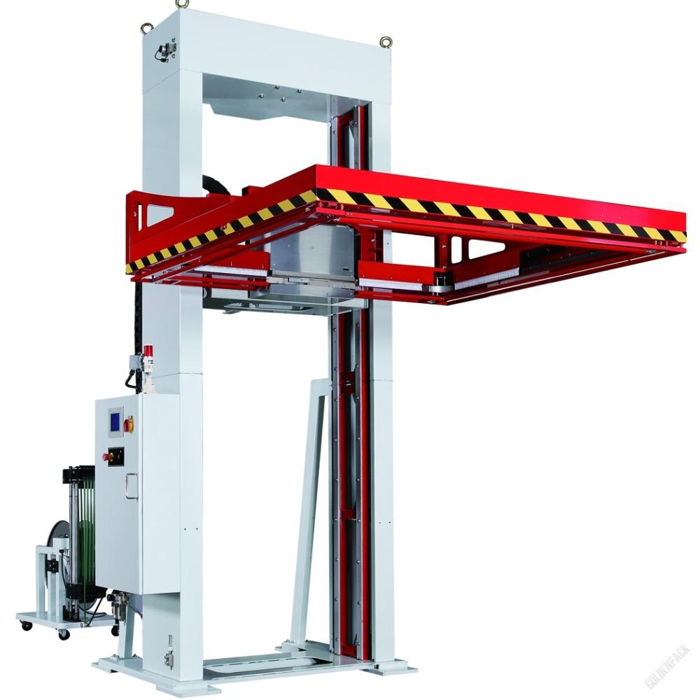 Горизонтальная автоматическая стреппинг машина для паллет